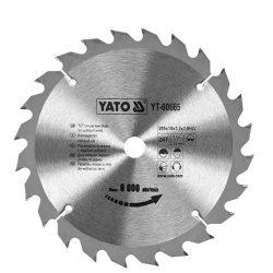 Yato YT-6065 Fűrésztárcsa fához 200/30/24
