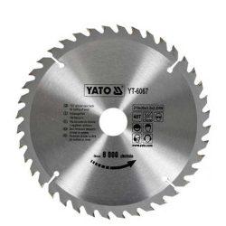Yato YT-6067 Fűrésztárcsa fához 210/30/40