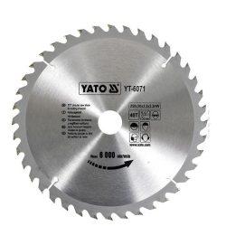 Yato YT-6071 Fűrésztárcsa fához 250/30/40
