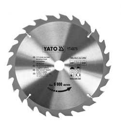 Yato YT-6075 Fűrésztárcsa fához 300/30/24
