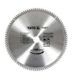 Yato YT-6077 Fűrésztárcsa fához 300/30/60