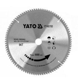 Yato YT-60785 Fűrésztárcsa fához 305x30 mm 96T
