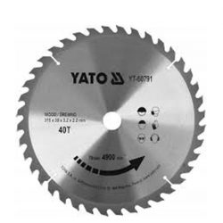 Yato YT-60791 Fűrésztárcsa fához 315x30 mm 40T