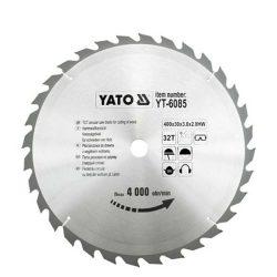 Yato YT-6085 Fűrésztárcsa fához 400/30/32