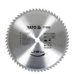 Yato YT-6086 Fűrésztárcsa fához 400/30/60