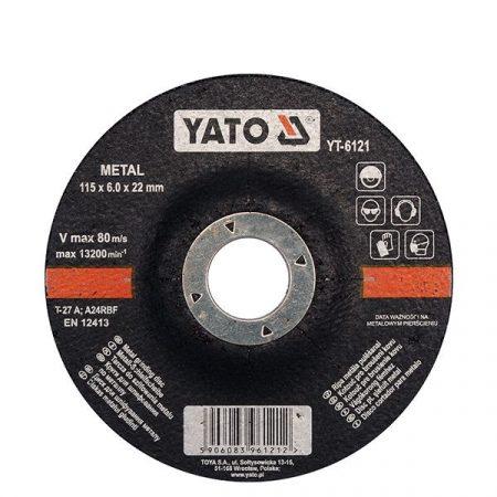 Yato YT-6121 Tisztítókorong 115x6x22