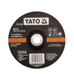 Yato YT-6138 Tisztítókorong 180x6x22