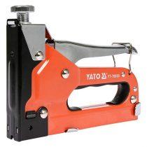 Yato YT-70020 Tűzőgép (3-féle kapocshoz alkalmas)