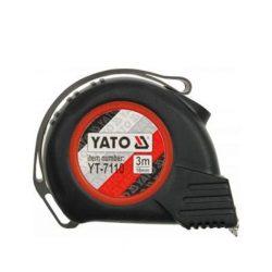 YATO mágneses mérőszalag gumis 3m/16mm