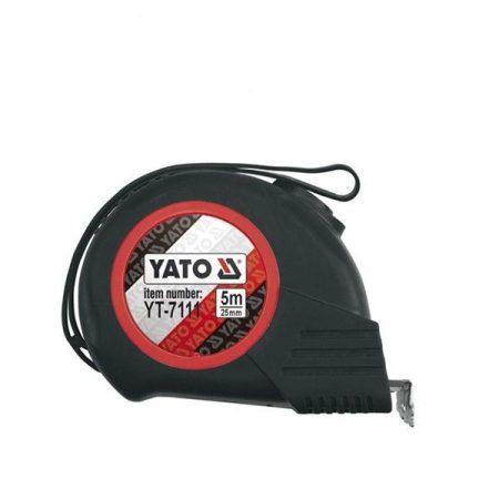 YATO mágneses mérőszalag gumis 5m/25mm