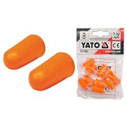 YATO füldugó 7-12mm 5 pár