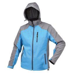 Yato YT-79565 softshell kabát kapucnival kék xxxl