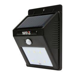 Yato YT-81856 napelemes fali led lámpa mozgásérzékelős yato