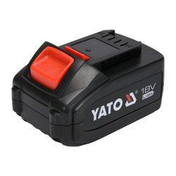 Yato YT-82843 Akkumulátor 18 V 3,0 Ah