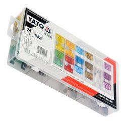 Yato YT-83140 biztosíték készlet 24 részes maxi yato