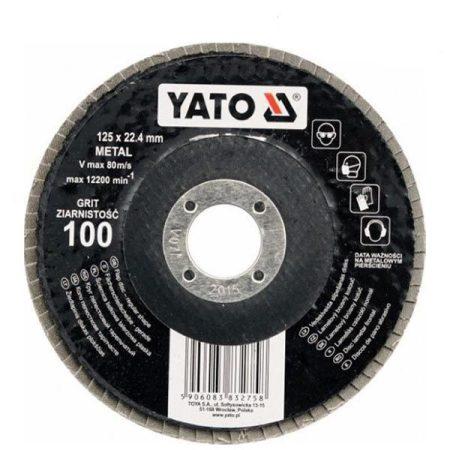 Yato YT-83271 Lamellás csiszoló 125/36