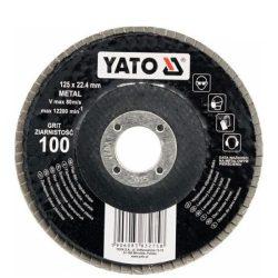 Yato YT-83274 Lamellás csiszoló 125/80