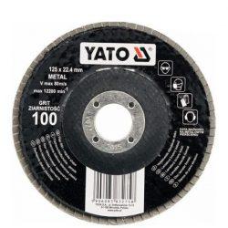 Yato YT-83276 Lamellás csiszoló 125/120