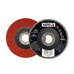 Yato YT-83293 Lamellás csiszoló 125/60