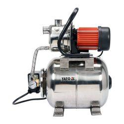 Yato YT-85370 Elektromos házi vízmű szivattyú Inox hidrofor tartállyal 1200 W