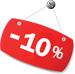 10% kedvezmény