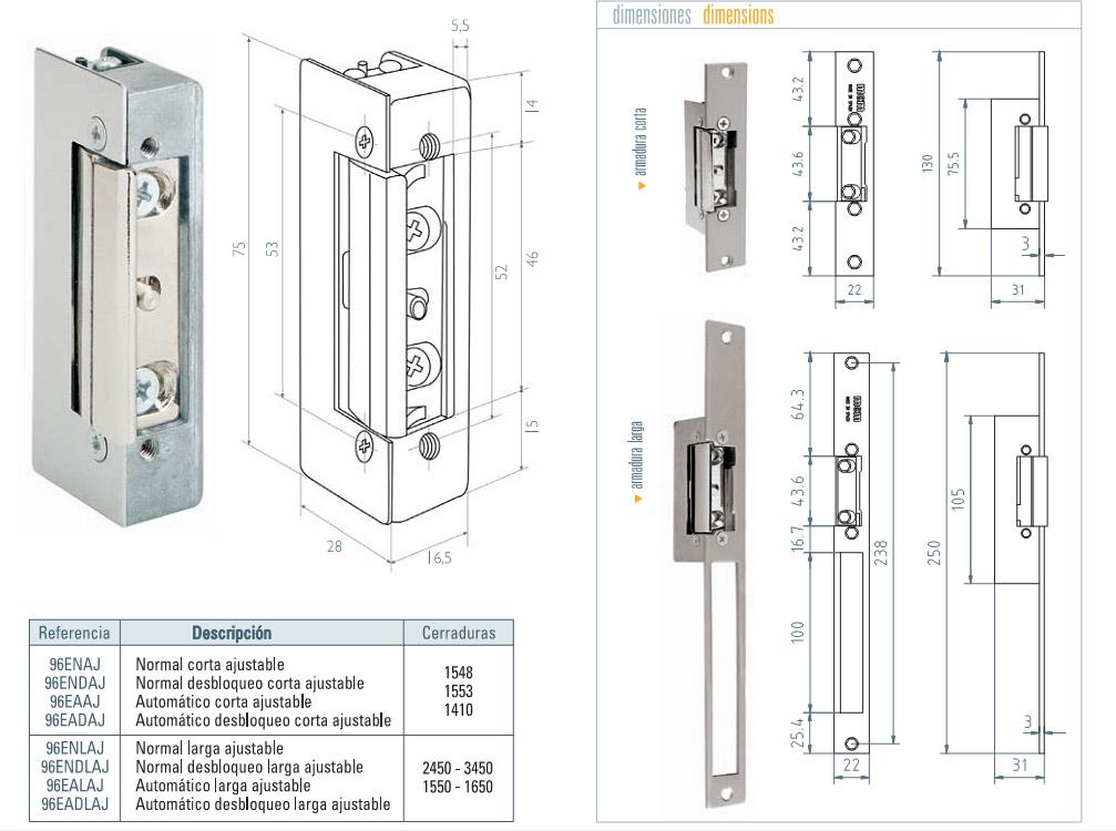 Mcm elektromos zár méretezése