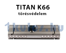 Titan k5 biztonsági zárbetét zártörés elleni védelemmel ellátva