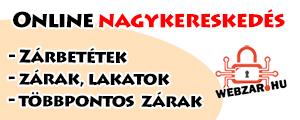 Online nagykereskedés, webzar.hu linkje